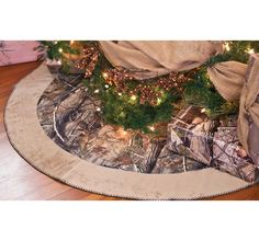 Celebrate The Season In True Outdoor Style With Realtree AP Camo Tree Skirt Made