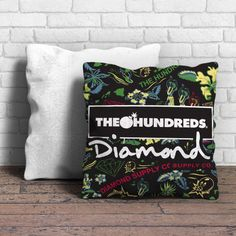 Diamond Supply Co And The Hundreds Pillow
