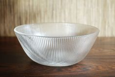 Press moulded Glass Bowl by Hadeland - - Lifestyle