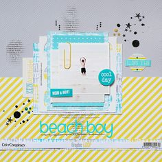 ★Scraptherapie★: {DT ColorConspiracy>>>Beach Boy}