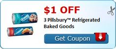 New Coupon!  $1.00 off 3 Pillsbury™ Refrigerated Baked Goods - http://www.stacyssavings.com/new-coupon-1-00-off-3-pillsbury-refrigerated-baked-goods-3/