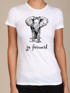 Go Forward White