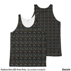 Fashion Diva All-Over Printed Unisex Tank