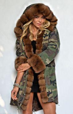 cool Парка женская зимняя с натуральным мехом (50 фото) — Разнообразие моделей модных курток