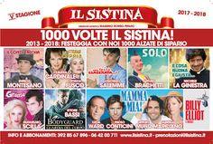 La quinta stagione del nuovo Sistina che festeggia le 1000 alzate di Sipario