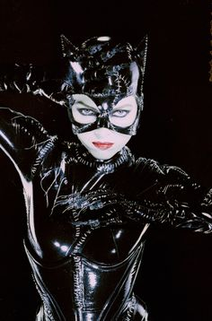 Michelle Pfeiffer's catwoman in Batman Returns.
