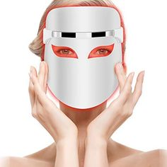 Hangsun Light Therapy Acne Mask Unlimited Sessions for Acne Spot Treatment Light Box Therapy, Light Therapy Acne Mask, Back Acne Treatment, Light Mask, Facial Rejuvenation, Acne Spots, Skin Mask, How To Treat Acne