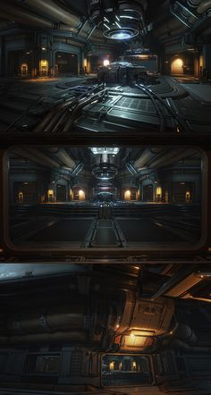 Halo4 scene in UE4 Engine