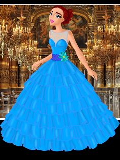 Drama dress quinceañera princess
