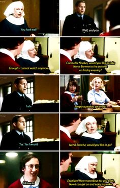 Call The Midwife. I love the whole show, but Chummy and Sister Evangeline are my favorites :)
