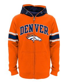 Outerstuff Denver Broncos Zip-Up Hoodie - Boys Denver Broncos Football, Boys Hoodies, Viera, Zip Ups, Sweaters, Jackets, Cozy, Christmas, Products