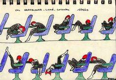 8 astuces pour bien dormir pendant un vol - Astuces de grand mère