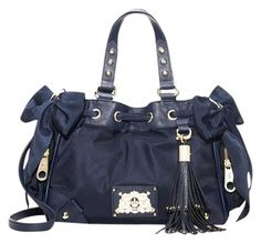 Juicy Couture Mini Daydreamer Navy Tote Bag $124