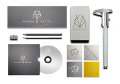 Markos Esther Design Studio Visual Identity in Identity