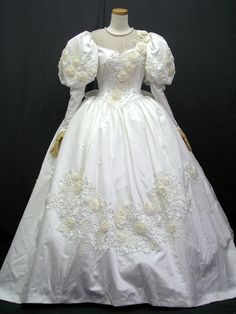 This is very similar to my Wedding dress 1986