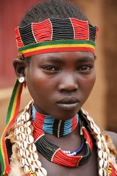 Hamar Tribe, Ethiopia, Africa  #world_cultures