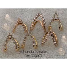Beaded Jewelry Designs, Gold Jewellery Design, Necklace Designs, Cz Jewellery, Latest Jewellery, Gold Rings Jewelry, Diamond Jewelry, Diamond Earrings, Jewlery