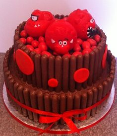red nose cakes - Google Search