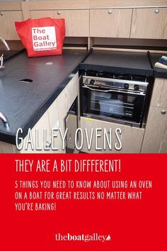 Here are 5 tips for making your boat galley oven work better for you.