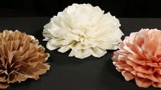 Wholesale Jumbo Taffeta Fabric Flowers (for DIY Wedding Decor). Oversized flowers are one of the most blooming trends in the wedding and event industry! These charming and decorative flowers feature layer after layer of intricate petals made of soft Fabric Flower Brooch, Fabric Flowers, Paper Flowers, Diy Wedding Decorations, Baby Shower Decorations, Flower Decorations, Wedding Ideas, Making Wedding Invitations, Diy Flowers