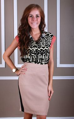 Business Casual Skirt, $44.99