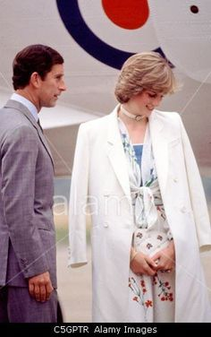1 August 1981 on honeymoon in Gibraltar.