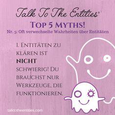 Nr. 5: Oft verwechselte Wahrheiten über Entitäten... #1 - Talk To The Entities