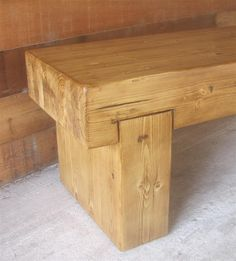 "12"" glulam bench on 14"" steel hairpin legs | DIY | Pinterest ..."