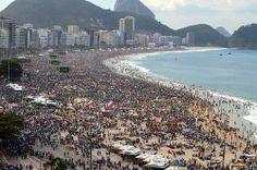 Copacabana, Brasil, JMJ'13