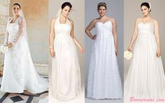 Wedding Dresses for Your Body Type: Apple Shapes & Plus-Size Tummies