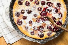Clafoutis is an easy French dessert that's perfect for using up summer fruit. Nothing like homey cobblers or crisps, clafoutis is decidedly more elegant yet even simpler to make. Use whatever fruit you have on hand — cherries are classic — whip up a quick batter in your blender, and bake for a dessert to impress both dinner and overnight guests alike.