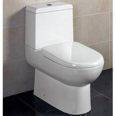 "Ariel Platinum ""Camilla"" Contemporary European Toilet with Dual Flush 26x15x26"