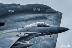 F-15 & B-2