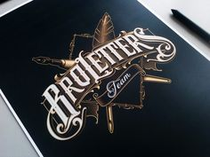 Broletters on Behance
