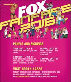 Fox San Diego Comic-Con 2016 Autographs | San Diego Comic-Con Unofficial Blog