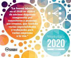 La fuerza laboral en 2020 tendrá varias especialidades y trabajará en proyectos de varias empresas a la vez. #WorkPlace2020