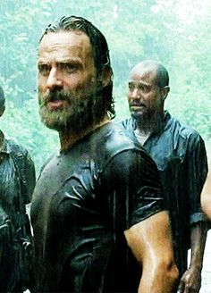 """The Walking Dead 5x10 """"Them"""" Rick Grimes. I could watch this gif all day!!"""