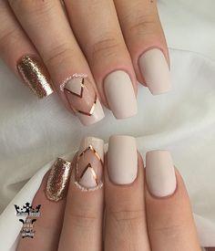 Nude gold nails  #nails #nailart #nudenails #gold #lovenails #naturalnails #nailsoftheday #fotooftheday #salonnails #nailaddict #nails2inspire #nailaholic #nailartist #marinaveniou #nailartseminars #trusttheexperts #beautymakesyouhappy   www.kalliopeveniou.