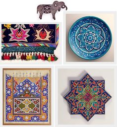 Indian style homewares - Bollywood Style Files by Duckprint
