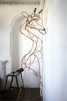 Anna-Wili Highfield's Paper and Copper Sculptures
