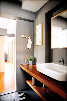 home decoration products HDB bathrooms that are both practical and luxurious Home Decor SingaporeHome Interior Design Tips - Ho. Bathroom Mirror Design, Modern Bathroom Design, Bathroom Interior Design, Bathroom Ideas, Small Bathroom, Bathroom Organization, Boho Bathroom, Bathroom Layout, Bathroom Remodeling