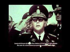 Discurso Marcos Pérez Jiménez 22 dias antes de ser derrocado
