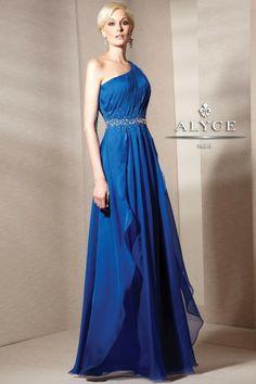 Bridesmaid dress idea...blue might be too dark