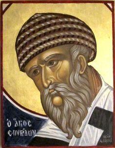 Klikkaa kuvaa nähdäksesi se täysikokoisena Byzantine Icons, Byzantine Art, Greek Icons, Orthodox Icons, Religious Art, Boats, Saints, Men, Santos