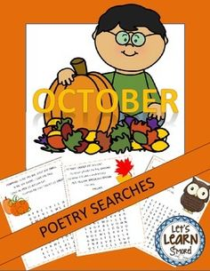 October Poetry Searches