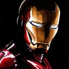Speed paint ironman iron man illustrations artworks