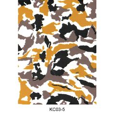 Hydro dipping film camouflage pattern KC03-5