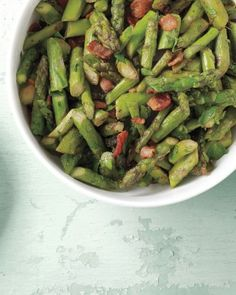 """See the """"Sauteed Asparagus with Bacon"""" in our Asparagus Recipes gallery"""