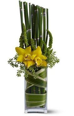 Spring Daffodil Flower Arrangement
