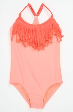 One Piece Little Girls Swimsuit  | Roxy $40